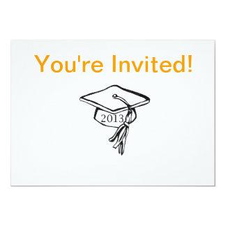 Basic Graduation Invite