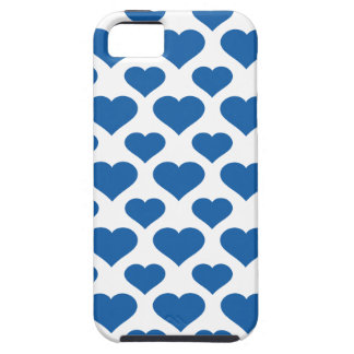 Basic Heart Dazzling Blue iPhone 5 Cover