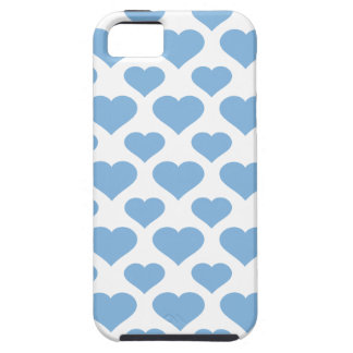 Basic Heart Placid Blue iPhone 5 Cover