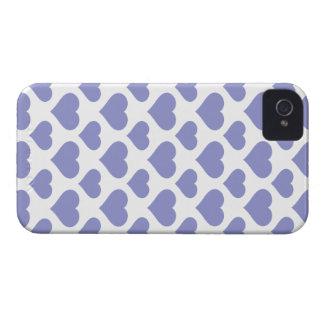Basic Heart Violet Tulip Case-Mate iPhone 4 Cases