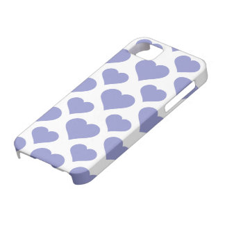 Basic Heart Violet Tulip iPhone 5 Cover