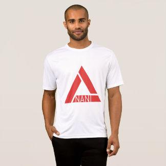 Basic Men's Tee White/Red Nani Logo