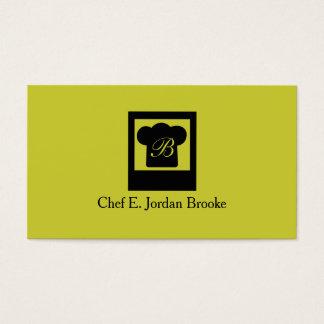 Basic Modern Chef 3 Business Card
