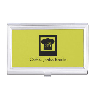Basic Modern Chef 3 Business Card Holder