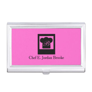 Basic Modern Chef 4 Case For Business Cards