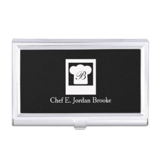 Basic Modern Chef Business Card Cases