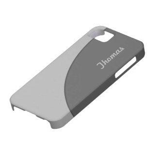 Basic Modern Grey iPhone 5 Cases