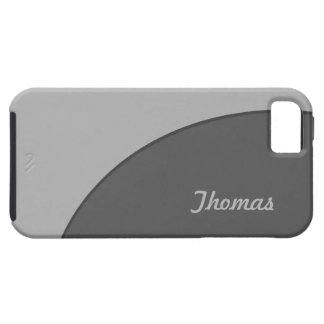 Basic Modern Grey iPhone 5 Cover
