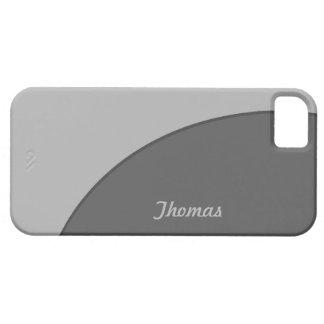Basic Modern Grey iPhone 5 Covers