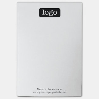 Basic Office or Business Logo or photo Post-it Notes