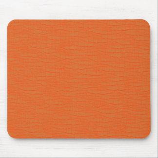 Basic Orange Mouse Pad