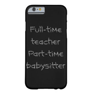 Basic phone case for teachers barely there iPhone 6 case