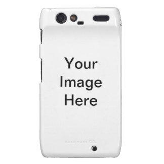 Basic Picture Template Motorola Droid RAZR Case
