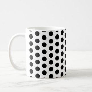 Basic Polka Dots Modern Pattern Basic White Mug