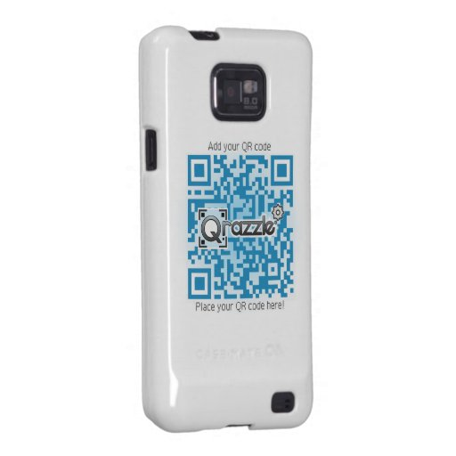Basic Qr code Product Samsung Galaxy Cover