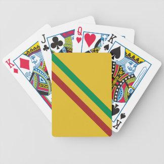 Basic Rasta Stripes Bicycle Playing Cards