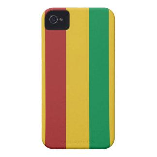 Basic Rasta Stripes iPhone 4 Cases