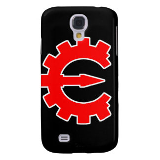 Basic Red Logo Galaxy S4 Case