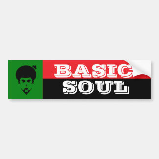 BASIC SOUL Bumper Sticker