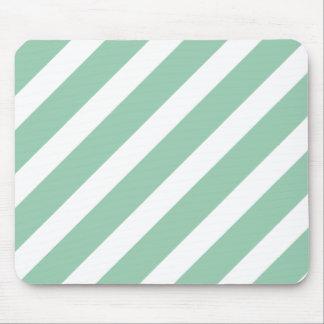 Basic Stripe 1 Hemlock Mouse Pad