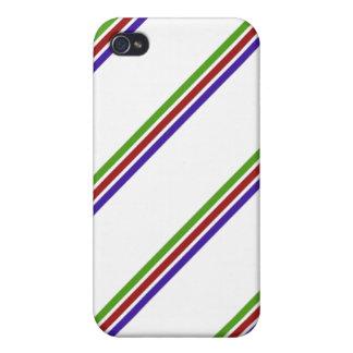 Basic Stripe Retro Goodness iPhone 4/4S Case