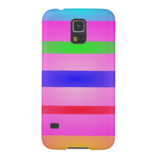 Basic Stripes Art Pink Galaxy S5 Covers