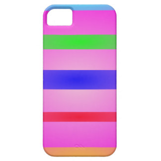 Basic Stripes Art Pink iPhone 5 Cases