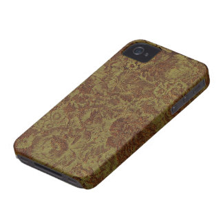Basic Vintage Material iPhone 4 Case-Mate Case