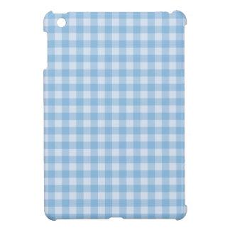 {Basics} Blue Gingham Plaid Pattern iPad Mini Covers