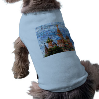 Basil's Cathedral collage - russia - kremlin Shirt