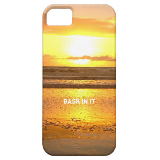 Bask In My Glow Sunset iPhone 5 Cover