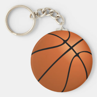 Basket Ball Keychain