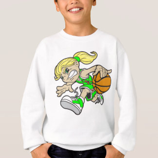 BASKET GIRL AUTISM RIBBON SWEATSHIRT
