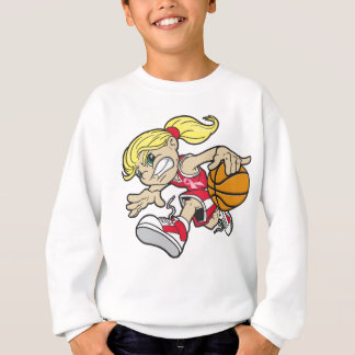 BASKET GIRL PINK RIBBON SWEATSHIRT