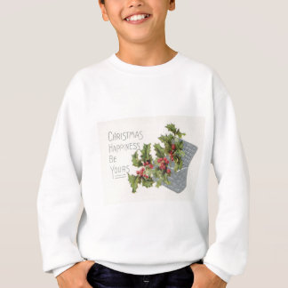 Basket of Holly Winterberry Sweatshirt