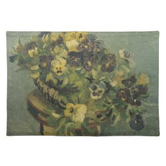 Basket of pansies Placemat
