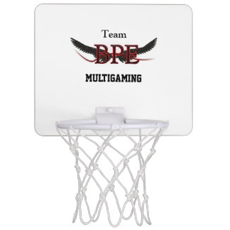 basket tennis shoe Bpe logo Mini Basketball Hoop