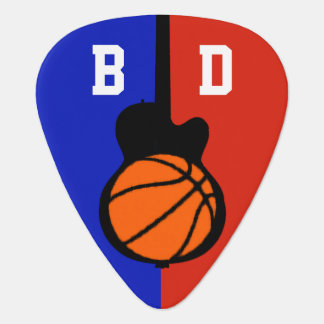 basketball-and-guitar ball personalized plectrum