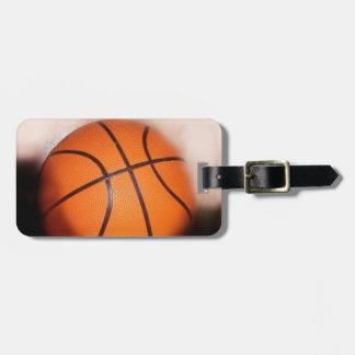 Basketball Artwork Luggage Tag
