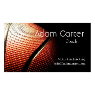 Basketball coach / player / referee Business Card