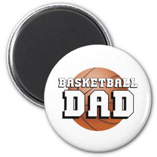 Basketball Dad 6 Cm Round Magnet