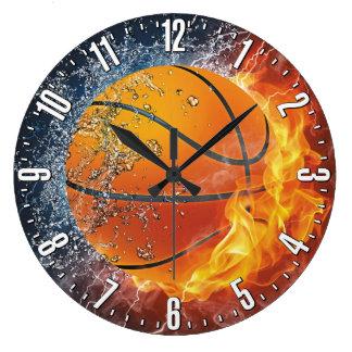 Basketball Decorative Wall Large Clock
