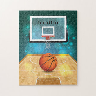 Basketball Design Jigsaw Puzzle