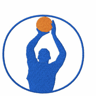 Basketball Embroidered T-Shirt