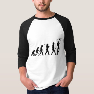 Basketball Evolution Fun Sports Art T-Shirt