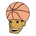 basketball head acrylic cut out