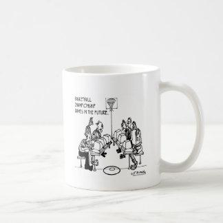 Basketball in the Future Basic White Mug