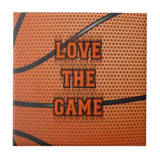 Basketball Love the Game Tiles
