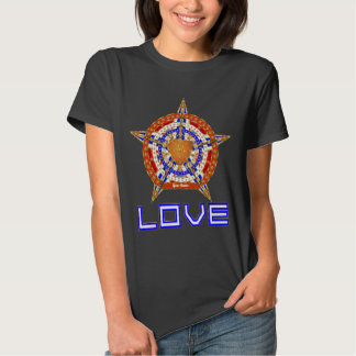 Basketball Love Womens Front Only Dark Only Shirts