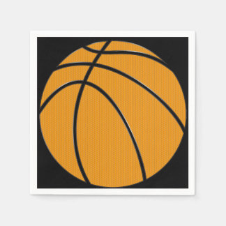 Basketball Paper Cocktail Napkins Disposable Serviette